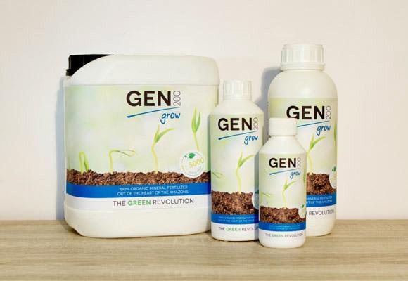 GEN200 GROW stimuliert Wurzelbildung und Wachstum und aktiviert den Reifungsprozess.